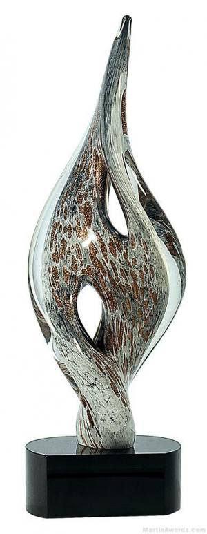 Mottled Wren Art Glass Award