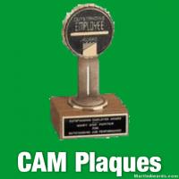 CAM Award Plaques