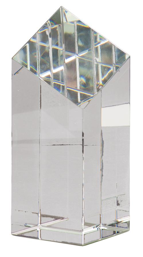 Genuine Prism Optical Diamond-shaped face Pillar Crystal