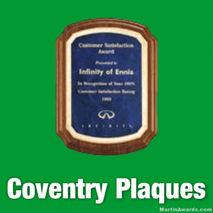 Coventry Award Plaques