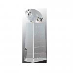 Diamond on top crystal award