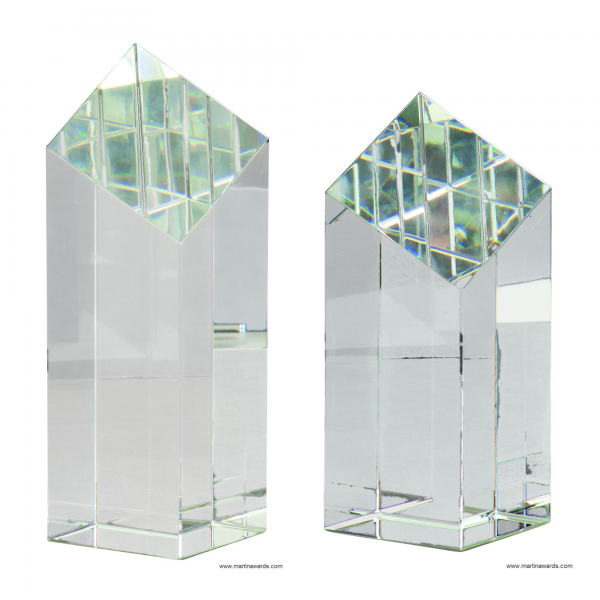 Diamond top Pillar Crystal
