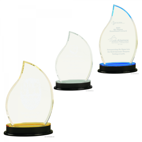 Flame Impress Acrylic Awards