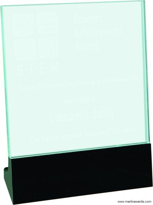 Premier Glass Standup Plaques