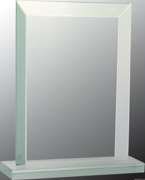 Rectangular Jade Glass Award