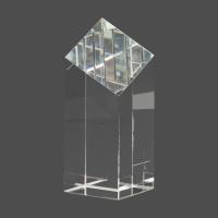 "6"" Crystal Diamond Top Pillar"