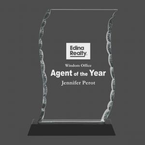 Scroll Glass Award