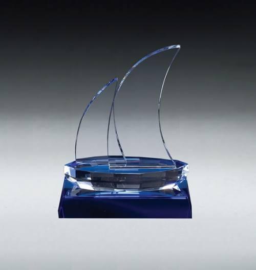 MA0514 - Crystal Blue Sailboat Yacht