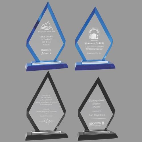 MA0530-MA0533 - Diamond Regal Glass Award
