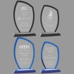MA0534-MA0537 – Peak Regal Glass Award