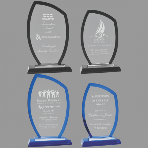 MA0534-MA0537 - Peak Regal Glass Award