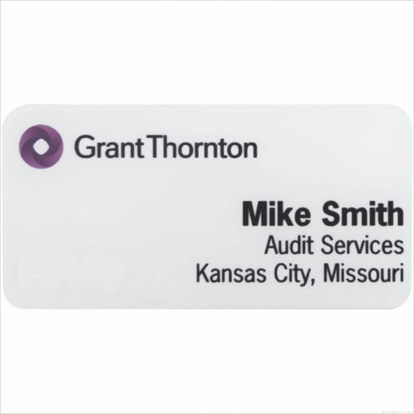 MA426FC – 1-1/2″ x 3″ White Metal 4-Color Process Name Badge