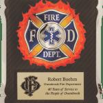 MA4501 – 10 1/2″ x 13″ Firefighter/Medical/EMT Hero Plaque