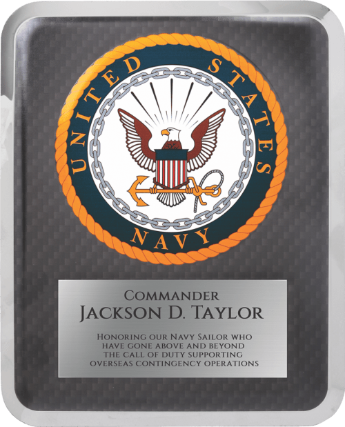 MA4505 - Navy Hero Plaque