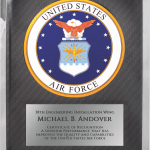 MA4506 – Air Force Hero Award Plaque
