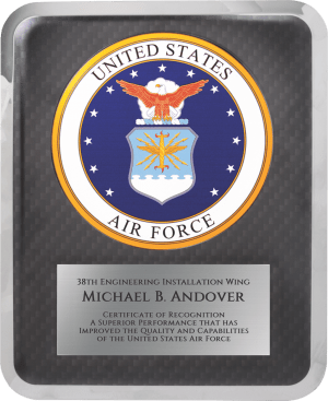 MA4506 - Air Force Hero Award Plaque