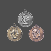 "2"" Achievement High Relief Medal"