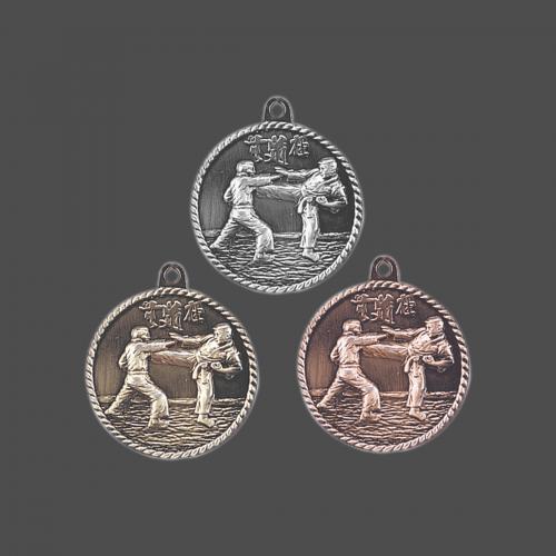"2"" Karate/Martial Arts Medal"