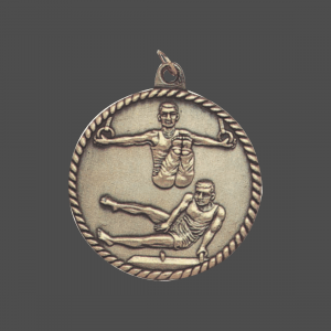 "2"" Men Gymnastics Medal"