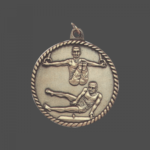 "2"" Men Gymnastics Medal"