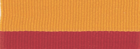 "7/8"" Red/Gold Neck Ribbon with Snap Clip"