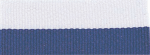 """7/8"""" Purple/White Neck Ribbon with Snap Clip"""