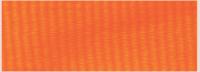 "7/8"" Neon Orange Neck Ribbon with Snap Clip"