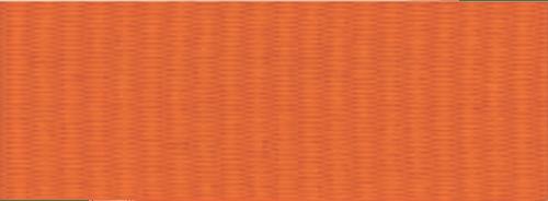 "1 1/2"" Orange Neck Ribbon with Snap Clip"