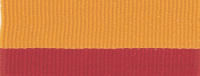 """1 1/2"""" Red/Gold Neck Ribbon with Snap Clip"""