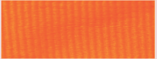 "1 1/2"" Neon Orange Neck Ribbon with Snap Clip"