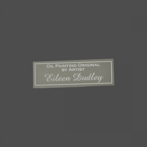 "1"" x 3"" Aluminum Silver Tone-on-Tone Engraved Tag"