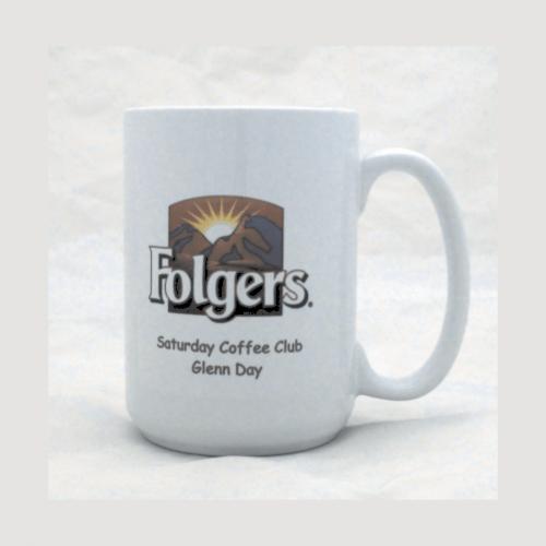 15 oz. White Full Color Sublimatable Ceramic Mug