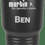 MA6017 – Black engraved Custom Tumbler 30oz