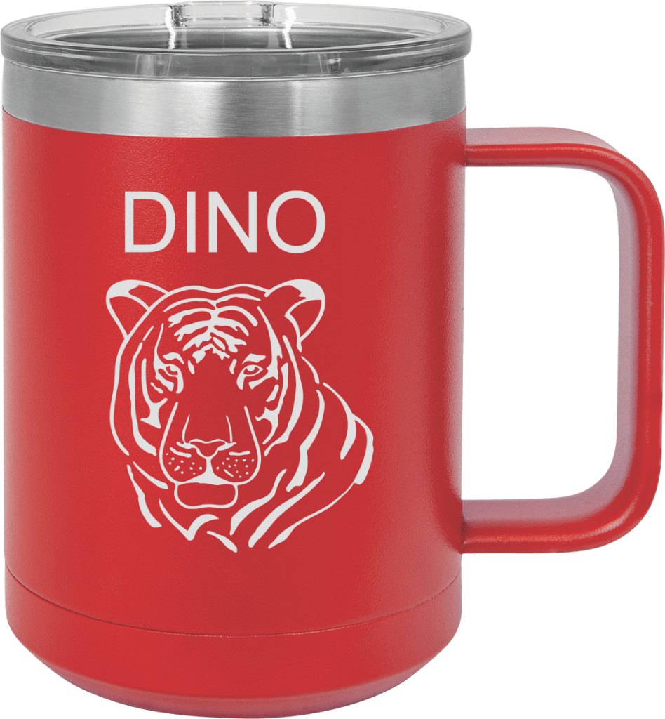 MA6062 - Red Custom Tumbler 15oz
