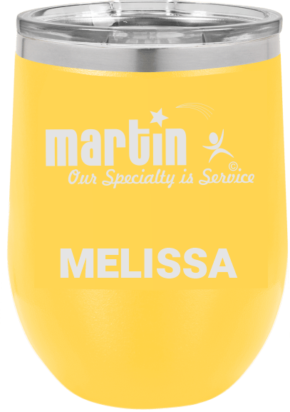 MA6094 - Yellow 10 oz tumbler