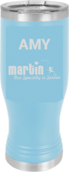 MA6116 - Light Blue 20 oz Pilsner Polar Camel Cup