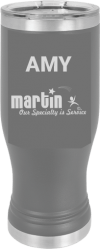 MA6119 - Dark Grey 20 oz Pilsner Tumbler