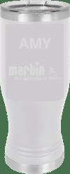 MA6123 - White Polar Camel Pilsner Cup