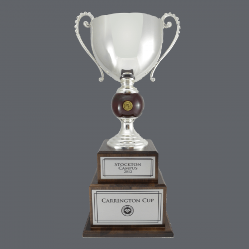 "30"" Metal Fire and Ice Trophy Cup"