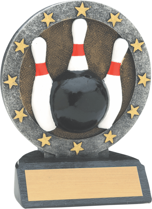 """4 1/2"""" Bowling All Star Resin"""