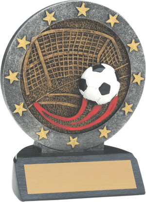 "4 1/2"" Soccer All Star Resin"