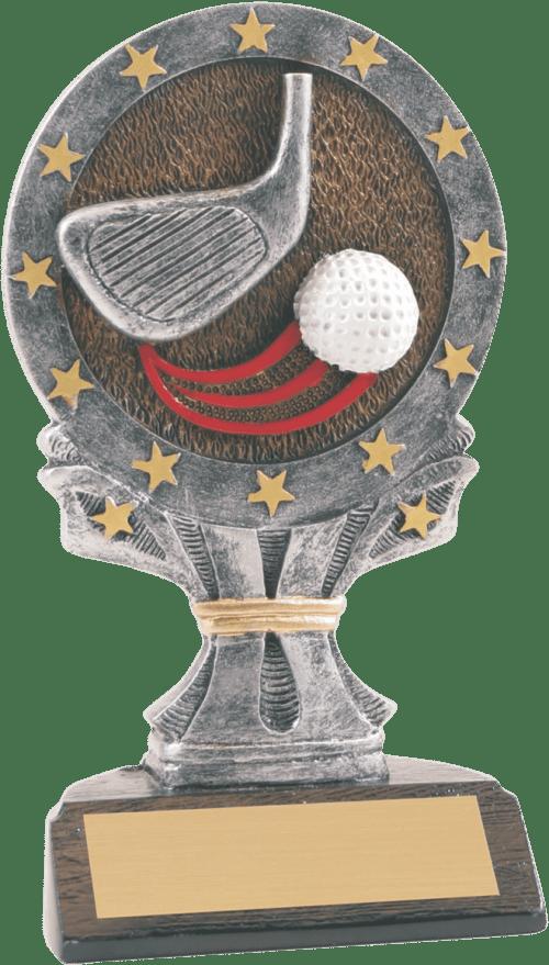 "6 1/4"" Golf All Star Resin"