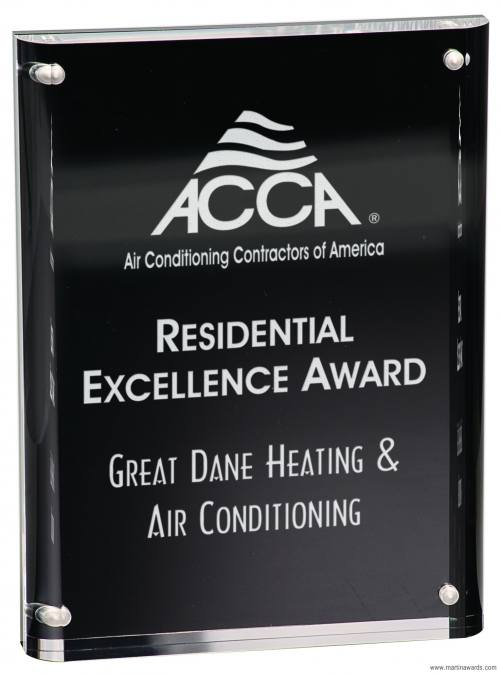 Magnetic Acrylic Free standing Awards