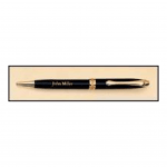 Black Brass Pen with Gold Trim