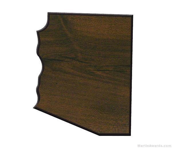Arizona State Shaped Plaque 1