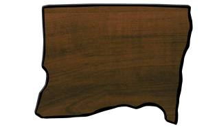Oregon State Shaped Plaque