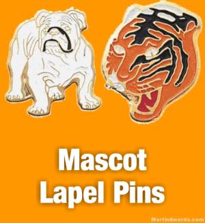 Mascot Lapel Pins