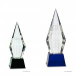Obelisk Facet Crystal Award