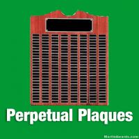 Perpetual Award Plaques
