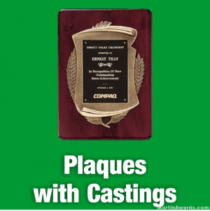 Plaques with Castings